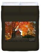 Autumn Haunt Duvet Cover