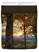 Autumn Highlights Duvet Cover by Debra and Dave Vanderlaan