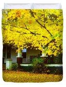 Autumn Homestead Duvet Cover