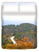 Autumn Horizon Duvet Cover