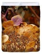 Autumn Hydrangeas V Duvet Cover