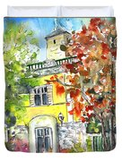 Autumn In Bergamo 02 Duvet Cover