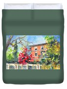 Autumn In Bergamo 01 Duvet Cover