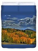 Autumn In Colorado Duvet Cover