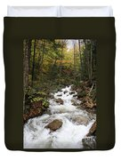 Franconia Notch In Autumn  Duvet Cover