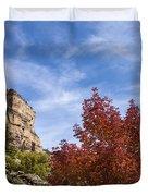 Autumn In Glenwood Canyon - Colorado Duvet Cover