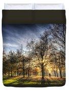 Autumn In London Duvet Cover