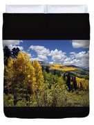 Autumn In New Mexico Duvet Cover