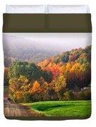 Autumn In New York Duvet Cover