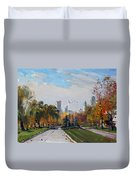 Autumn In Niagara Falls State Park Duvet Cover