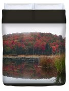 Autumn In Northern Vermont Duvet Cover