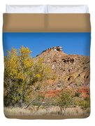 Autumn In Palo Duro Canyon 110213.119 Duvet Cover