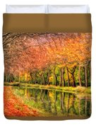 Autumn In Provence Duvet Cover