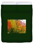 Autumn In Southwest Michigan Duvet Cover