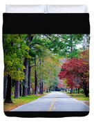Autumn In The Air Duvet Cover