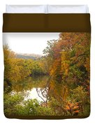 Autumn In The Butternut Valley-five Duvet Cover