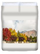 Autumn In The City Duvet Cover