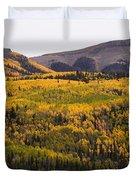 Autumn In The Colorado Mountains Duvet Cover