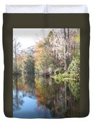 Autumn In A Swamp Duvet Cover