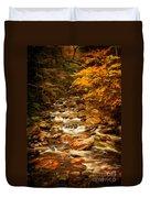 Autumn In Vermont Duvet Cover
