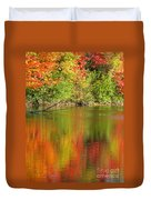 Autumn Iridescence Duvet Cover