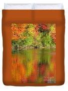 Autumn Iridescence Duvet Cover