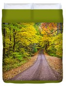Autumn Journey Duvet Cover