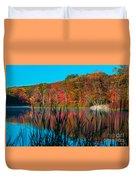 Autumn Lake Duvet Cover