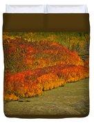 Autumn Lava Flow Duvet Cover