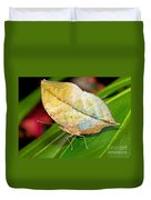 Autumn Leaf Butterfly Duvet Cover