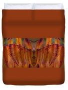 Autumn Leaves 03 Mirror Image Duvet Cover