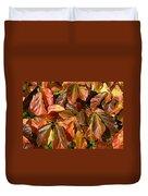 Autumn Leaves 81 Duvet Cover