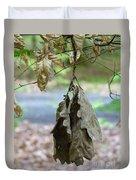 Autumn Leaves In Summer Duvet Cover