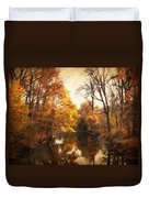 Autumn Lingers Duvet Cover