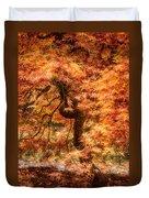 Autumn Maple Duvet Cover