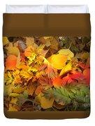 Autumn Masquerade Duvet Cover by Martin Howard