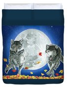Autumn Moon Duvet Cover
