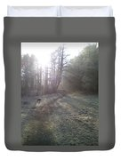 Autumn Morning 5 Duvet Cover by David Stribbling