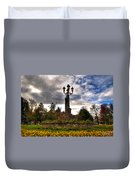 Autumn Morning At Symphony Circle V2 Duvet Cover