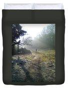 Autumn Morning  Duvet Cover by David Stribbling