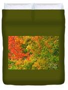 Autumn Mosaic Nj Duvet Cover