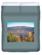 Autumn Mountain Duvet Cover