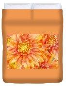 Autumn Mums Duvet Cover by Heidi Smith
