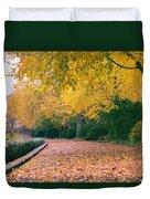 Autumn - New York City - Fort Tryon Park Duvet Cover