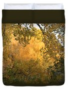 Autumn On The Bosque Duvet Cover