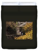 Autumn On The C And O Canal Duvet Cover