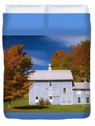 Autumn On The Farm Duvet Cover