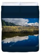 Autumn On The Klamath 10 Duvet Cover