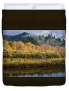 Autumn On The Klamath 4 Duvet Cover