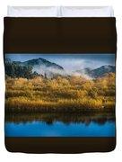 Autumn On The Klamath 5 Duvet Cover